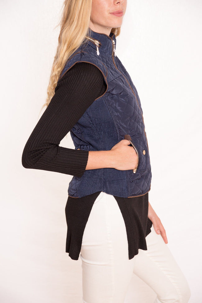 Hoodie Excursion Quilted Down Vest available at Celizzione.com