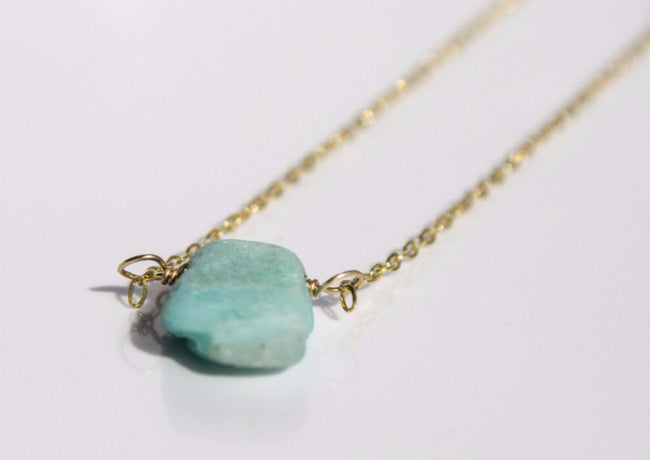 Organic Gemstone-Light Blue - Available at Celizzione.com