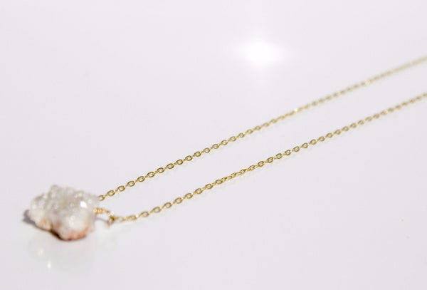 Organic Gemstone - Crystal White - Available at Celizzione.com
