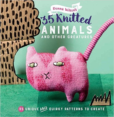 35 Knitted Animals