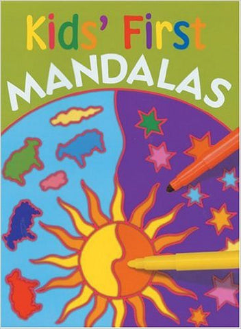 Kids First Mandalas Coloring Book