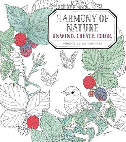 Harmony of Nature Coloring Book