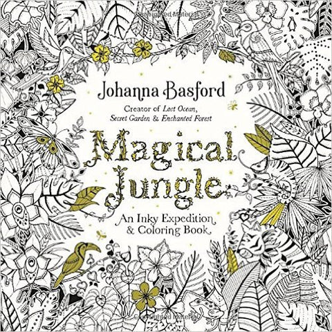 Magical Jungle Coloring Book – West Broadway Distribution Services