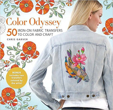 Color Odyssey: 50 Iron On Fabric Transfers