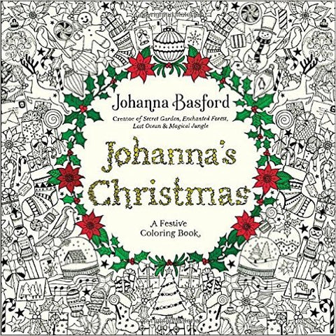 johannas christmas coloring book