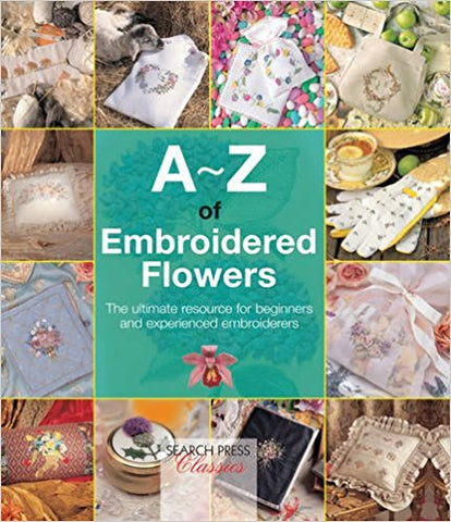 A-Z Embroidered Flowers