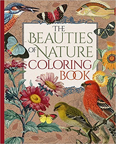 Beauties of Nature Coloring book – West Broadway Distribution Services