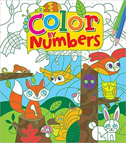 Color By Numbers Coloring Book