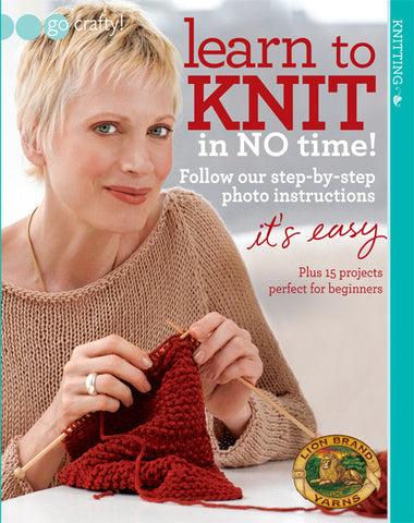 Learn to Knit in No Time