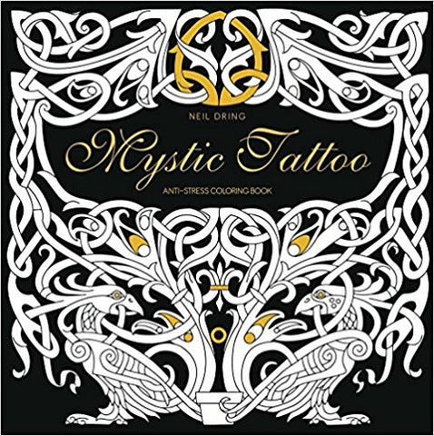 Mystic Tattoo Coloring Book