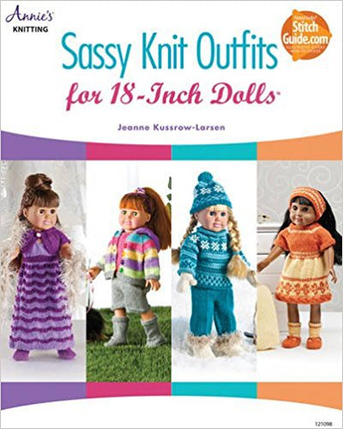 "Sassy Knit Outfits for 18"" Dolls"