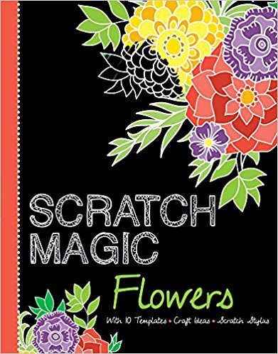 Flowers With 10 Templates Craft Ideas And Scratch Stylus Magic