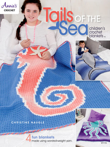 Tales of the Sea: Children's Crocheted Blankets