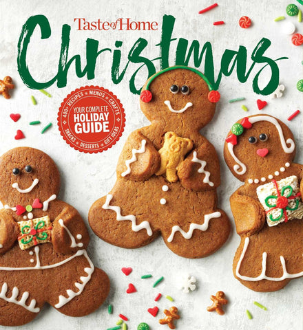 Taste of Home Christmas 2E: 350 Recipes, Crafts, Ideas for Your Most Magical Holiday Yet!