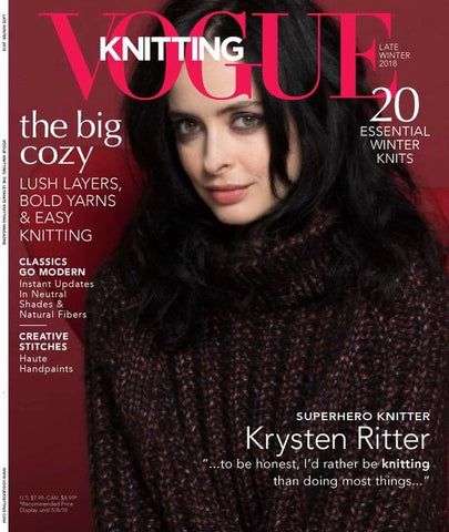 Vogue Knitting Late Winter 2018 Vol. 36