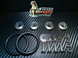 Bumper Quick Release Kit Fastener Fender Guard Clips ( GREY ) JDM DRIFT DRAG