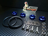 Bumper Quick Release Kit Fastener Fender Guard Clips ( BLUE ) JDM DRIFT DRAG