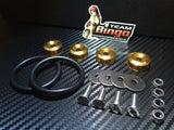 Bumper Quick Release Kit Fastener Fender Guard Clips ( GOLD ) JDM DRIFT DRAG