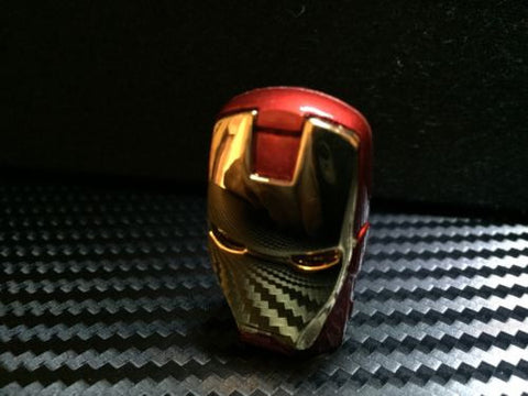 Iron Man 16GB USB 2.0 Flash Memory Pen Drive Storage Disk Key PC MAC Car Audio