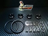 Bumper Quick Release Kit Fastener Fender Guard Clips ( BLACK ) JDM DRIFT DRAG