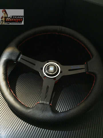 NARDI Torino Leather Steering Wheel 350mm JDM