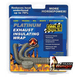 COOL IT Thermo Tec Exhaust Wrap Heat Insulating Tape Graphite or Titanium