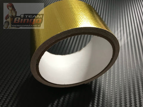 Super Gold Reflective Heat Tape Wrap Adhesive Foil Tape