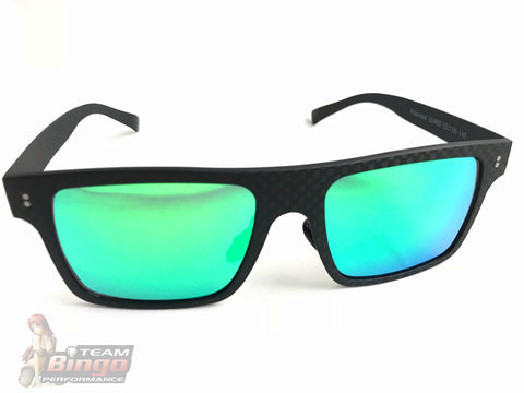 Team Bingo Performance Real Carbon Fibre Sunglasses Dry Carbon Fibre Frames Polarize UV400