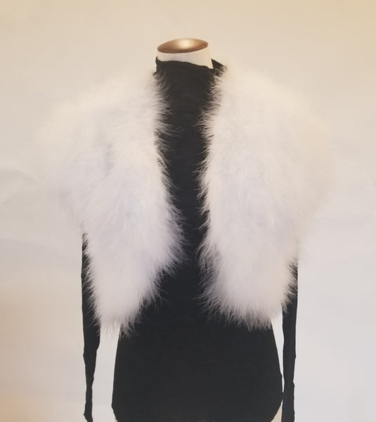 INC Faux Fur Vest