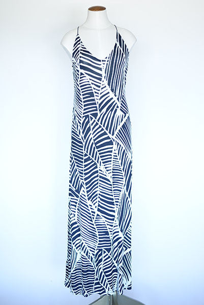 Ann Taylor Racer Back Cami Maxi Dress- Printed