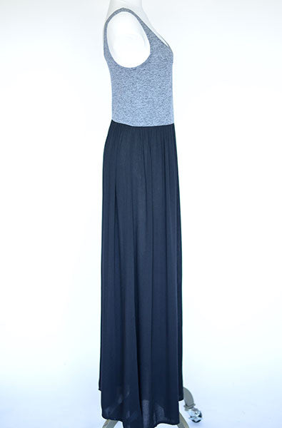 Lou & Grey Color Block Maxi Dress