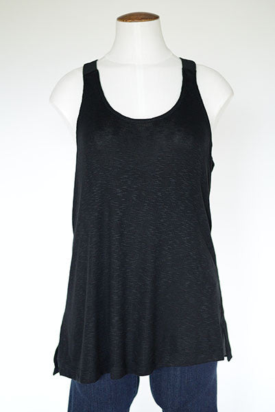 Lou & Grey Black Racer Back Tank