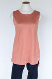 Banana Republic Cut-out Side Tank- Orange