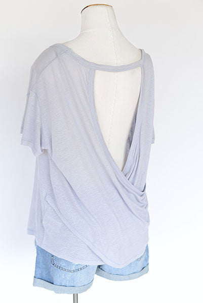 Free People We The Free Gemma Back Wrap Tee