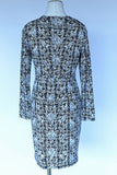 Michael Kors Printed Dress - Tan