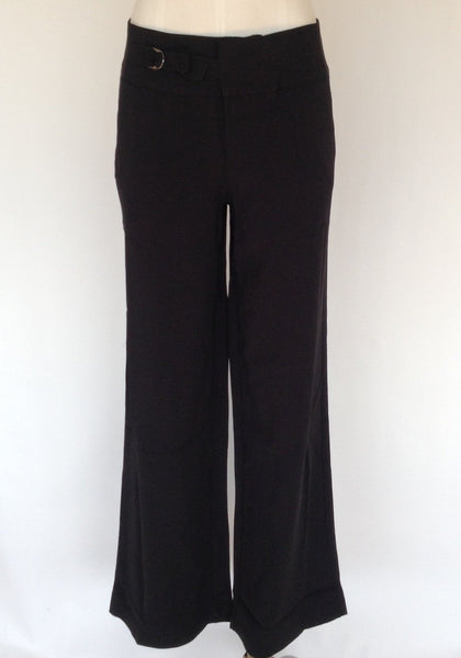 Chicos Black Label Wide Leg Pants