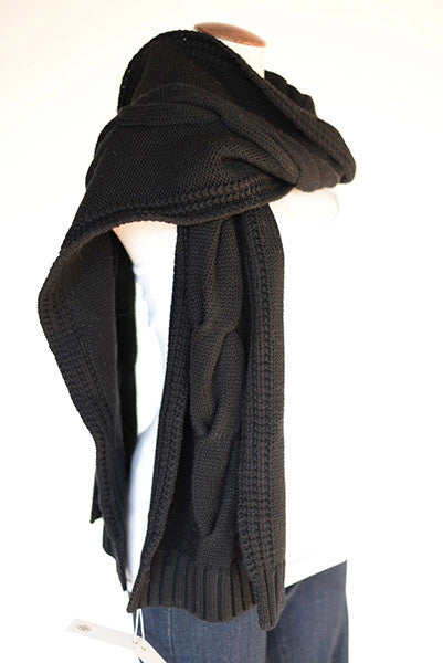 Tory Burch Cable Knit Scarf Style