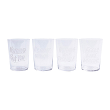 Crystal Cocktail Glass Set