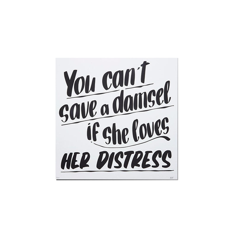 Damsel & Distress Print