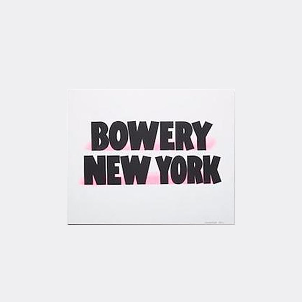 Bowery New York Print