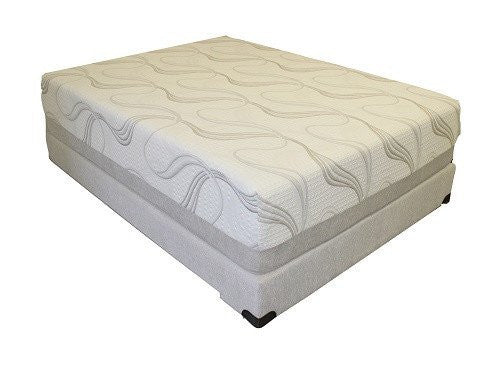 "Gel Lux 12"" Memory Foam Mattress ONLY"