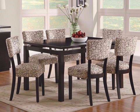 COASTER 103161 7 PIECE DINING COLLECTION