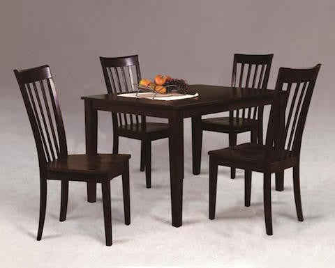 Crown Mark Dining Room Brody 5-Pc Dinette 2182