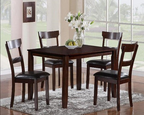 5 Piece Dining Table CrownMark 2254