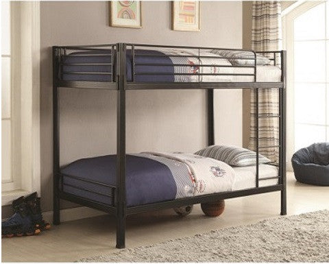 Metal Twin over Twin Bunk Bed 400067T Coaster