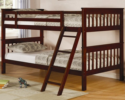 Parker Twin Slat Bunk Bed Coaster 460231