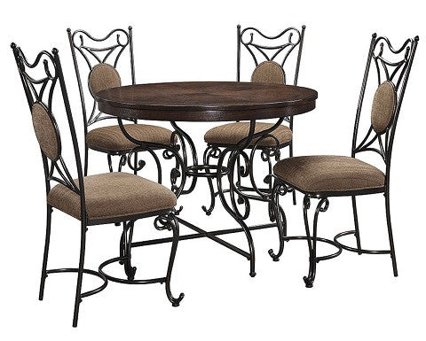 Brulind Round Dining Room Table Signature Design by Ashley D584-15