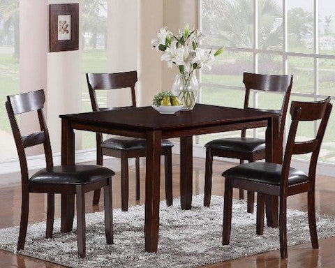 Henderson 5 Pc Dinette Set by Crown Mark Furniture 2254