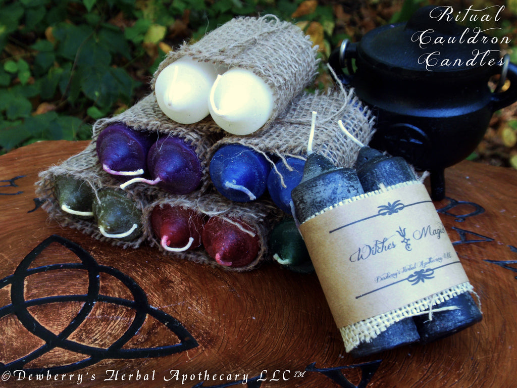 CAULDRON CANDLE Set For Ritual Altar Magick, Witchcraft, Create Awesome  Magick!™, Choose Your Candle