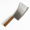 "7.25"" Meat Cleaver with Walnut Handle"